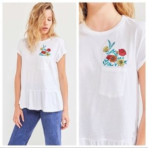 Urban Outfitters floral top!